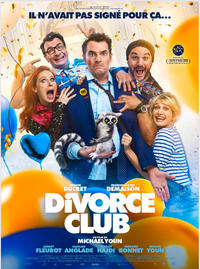 "Affiche du film ""Divorce club"""